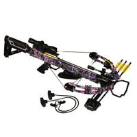 Bruin Ambush 345 Ready to Hunt Crossbow Package - Muddy Girl Camo
