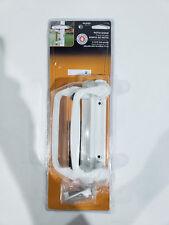 Prime Line White Decorative Siding Door Handle Set  C 1178