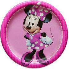 Minnie Mouse Classic Round Dessert Plates Birthday Party Supplies 8 Per Package