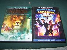 LavaGirl 3-D & The Chronicles of Narnia DVD /Movies