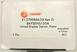 Trane Wired Display Temperature Sensor BAYSENS 135A HVAC X13790886-05 Parts
