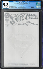 SUperman: The Wedding Album #1 CGC 9.8 (Dec 1996, DC) Collector's Edition