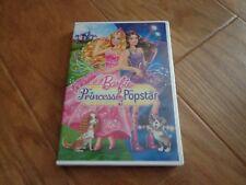 Barbie: The Princess  the Popstar (DVD, 2012) EUC