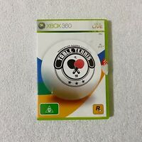 Table Tennis Rockstar Games XBOX 360 PAL Game