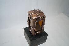 Grablampe, Grablaterne aus Bronze Manfred Koenen 153 mit gebrauchtem Sockel