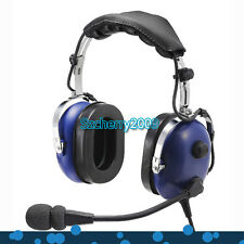 New Blue Headset PNR (Passive Noise Reduction) Aviation Headset IN-1000