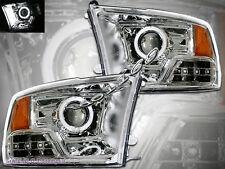 09-12 DODGE RAM 1500/2500/3500 PROJECTOR CHROME CCFL HALO HEADLIGHTS