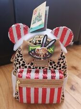 More details for disney minnie mouse main attraction, jungle cruise, loungefly bag, bnwt