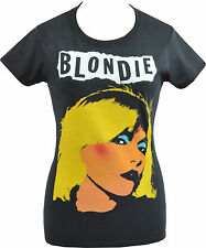 WOMENS PUNK TSHIRT BLONDIE DEBBIE HARRY NEW WAVE AMERICAN CBGB ATOMIC S-2XL