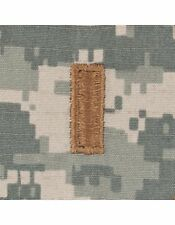 2nd Lieutenant (2LT) ACU Sew-on Cap Rank