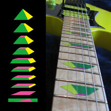 Fret Markers Inlay Sticker Decal Guitar & Bass - Ibanez UV77 Vai Pyramid -GYP