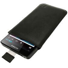 Noires en simili cuir pochette housse Titulaire pour Sony Walkman NWZ-F886 F880 F887