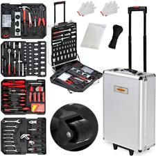 Valise à outils 899 pièces à roulettes avec poignée télescopique Boîte à outils