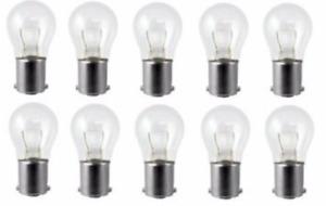 PACK OF (10) Turn Signal Light Bulb-Standard Lamp Rear/Front GE Lighting 1157