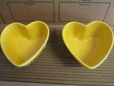 Cheerios Yellow Heart Shaped Collector's Cereal Bowl 2003 General Mills
