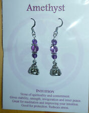 Surgical Steel Amethyst Fashion Jewellery