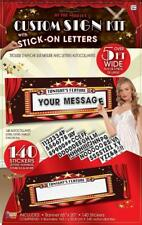 At the Movies Hollywood Oscar Award Prom Theme Party Decoration Sign Banner Kit
