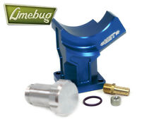 VW MST Alternator Generator Stand Plinth Blue Billet  12 Volt T1 T2 Ghia Beetle