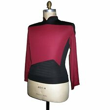 STAR TREK - Uniform Next Generation DELUXE - Captain rot  XXL
