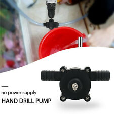 Hand Electric Drill Drive Self Priming Pump Oil Fluid Water Small Transfer Pumps