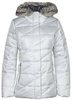 NWT Women's Obermeyer Bombshell Down Parka Ceramic White Size 8