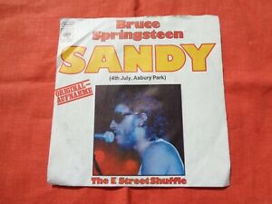 Bruce Springsteen SANDY 4th July Asbury Park The E Street Shuffle Single