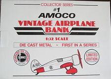 AMOCO #1 VINTAGE AIRPLANE 1/32  LIBERTY CLASSICS DIECAST SPECCAST 0805