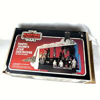 Vintage Star Wars Empire Strikes Darth Vader's Star Destroyer Box 1980 Kenner