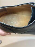 Coach black dress shoes size 13 great condition