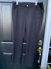Michael Kors  Pants Black  Size 12 Boho Retro Casual Dreas Work ECU