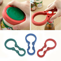 Multi Handy Non Slip Grip Twist Container Bottle Opener Jar Lid Can Open Tool JH