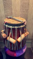 New Tabla Dayan Neem Wood Professionally Well Tuned for Special Chhavri(Puddis)
