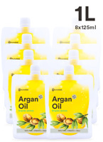 100% ORGANIC MOROCCAN ARGAN OIL 1.0L |  Natural moisturiser | FREE AU SHIPPING