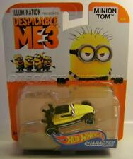 MINION TOM JAIL 4/6 DESPICABLE ME 3 CHARACTER CARS HOT WHEELS 2017