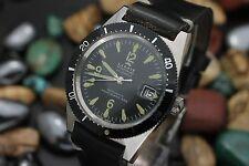 Vintage LIMIT Of Switzerland Automatic 25j Aqua-Guard 660 Steel Divers Watch