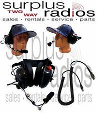 Dual Muff Racing Headset Icom F1000D F1000 F2000D F2000 F1000S F2000S F4021S F21