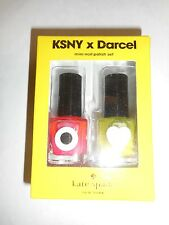 KATE SPADE KSNY x DARCEL MINI NAIL POLISH SET 0.27oz/0.27oz  NEW IN BOX