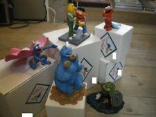 Extremely Rare! Sesame Street Leblon Delienne Figurine Statue Complete Set