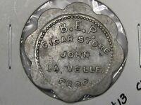 US Trade Token: B.E.P. Cigar Jonesville, MI. G/F 5¢.  #30