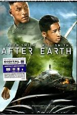 After Earth (DVD, 2013, With Digital Copy UltraViolet Widescreen New Sealed