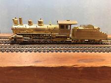 HOn3 D&RGW Westside K-27 Compound 2-8-2 Mikado Locomotive - Brass