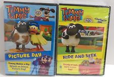 New Timmy Time Picture Day and Hide and Seek DVDs