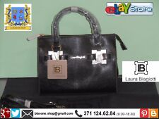 Borsa Bauletto shopping Donna Laura Biagiotti New Nuovo A/I Honey Nero Fashion