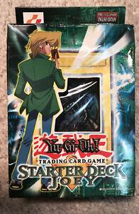 Yu-Gi-Oh Starter Deck Joey 1st Edition #Sealed