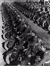 Photo. WW2. Australian Dispatch Riders on American Motorcycles