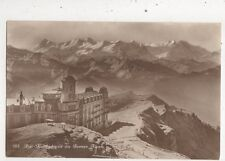 Rigi Kaltbad & Berner Alpen Switzerland 1914 Rp Postcard 952a