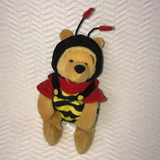 "Winnie The Pooh 8"" Plush Bee Costume The Walt Disney Company Bumblebee Pooh"