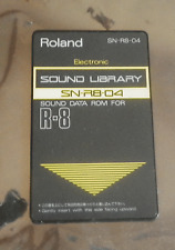 Roland  SN-R8-04 Electronic ROM card for R8 R8M R8MKII Drum machine
