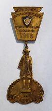 1916 P.O.S. of A. Delegate Philadelphia Medal Patriotic Order Sons Figural