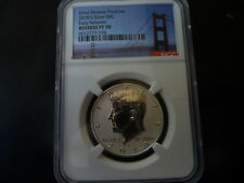 2018 s silver reverse proof Kennedy half dollar NGC PF 70 (Early Releases) **